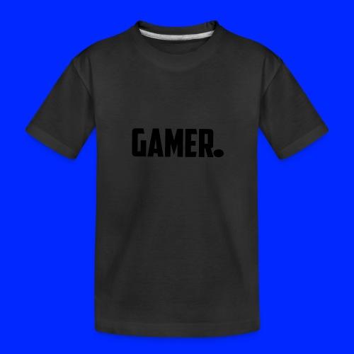 gamer. - Teenager premium biologisch T-shirt