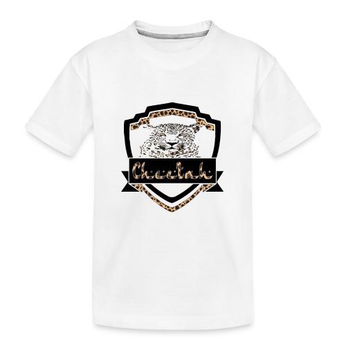 Cheetah Shield - Teenager Premium Organic T-Shirt