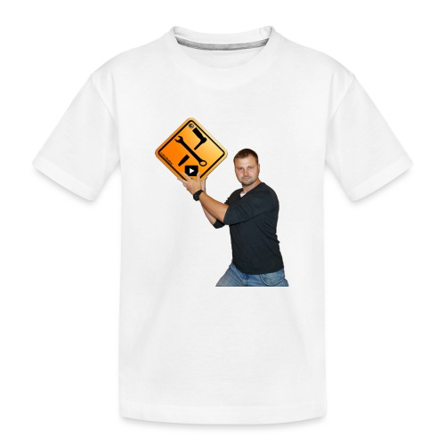 M1Molter + Logo - Teenager Premium Bio T-Shirt