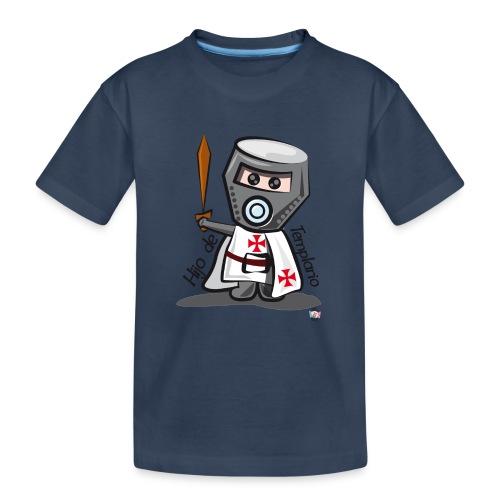Hijo de templario (Casco) - Camiseta orgánica premium adolescente