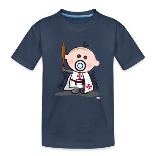 Hijo de templario - Camiseta orgánica premium adolescente