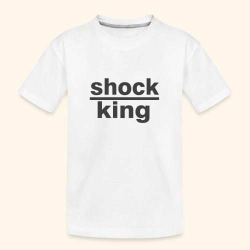 shock king funny - Maglietta ecologica premium per ragazzi