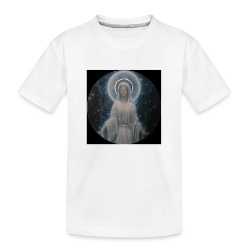 圣母玛利亚 Notre Dame by Jean Libon (Noir) - T-shirt bio Premium Ado