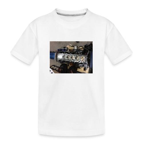 Motor tröja - Ekologisk premium-T-shirt tonåring