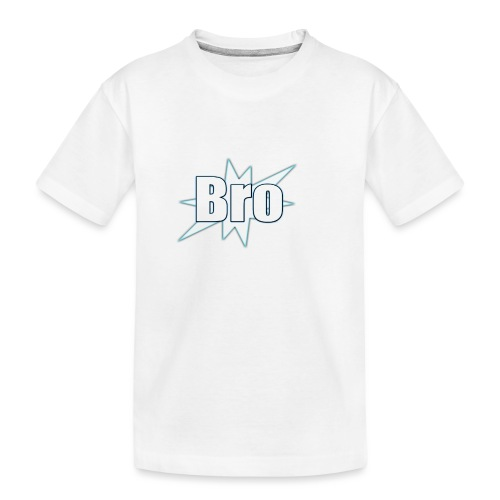 Bro hats and shirts - Teenager premium T-shirt økologisk