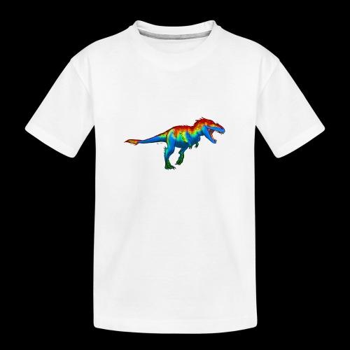 T-Rex - Teenager Premium Organic T-Shirt