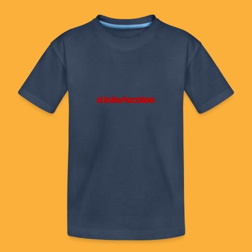 DJATODOCOLOR LOGO ROJO - Camiseta orgánica premium adolescente