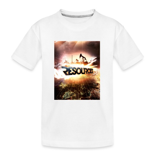 RESOURCES Splash Screen - Teenager Premium Bio T-Shirt