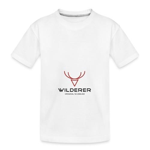 WUIDBUZZ | Wilderer | Männersache - Teenager Premium Bio T-Shirt