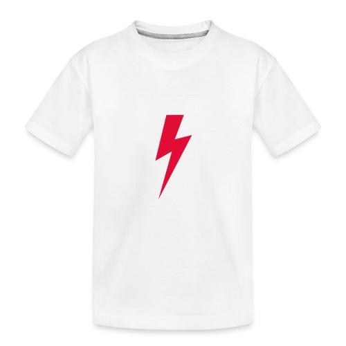 Błyskawica polannd ppro choice women rights - Ekologiczna koszulka młodzieżowa Premium