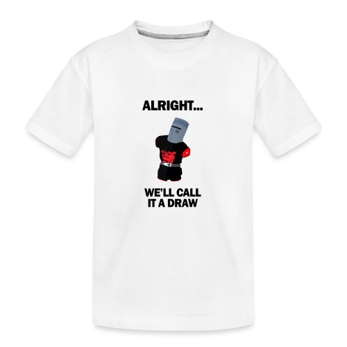 The Black Knight - Teenager Premium Organic T-Shirt