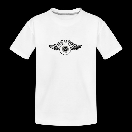 Skate wings - Teenager premium biologisch T-shirt