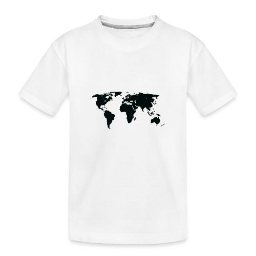World - Teenager premium T-shirt økologisk