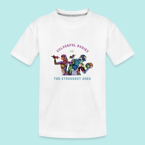 Vegetarian@s/vegan@s - Camiseta orgánica premium adolescente