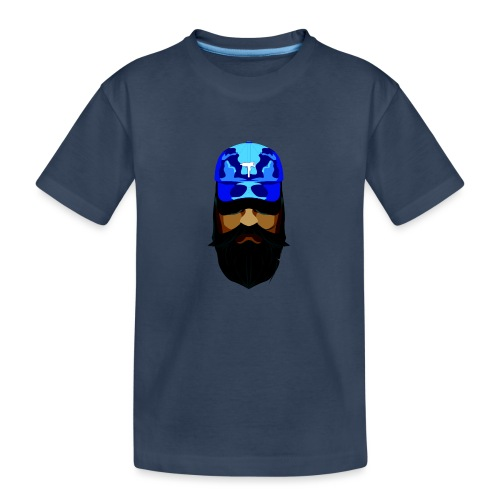 T-shirt gorra dadhat y boso estilo fresco - Camiseta orgánica premium adolescente