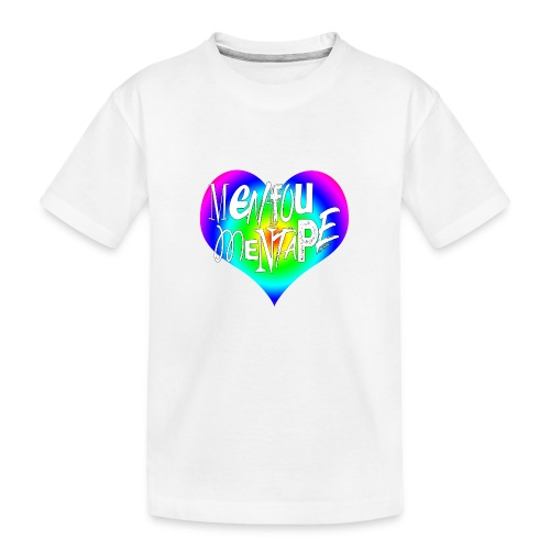 MENFOUMENTAPE Arc en ciel by Alice Kara - T-shirt bio Premium Ado