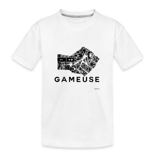 POING GAMEUSE - T-shirt bio Premium Ado