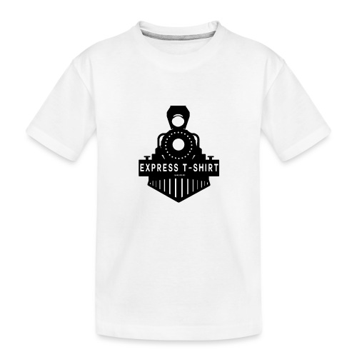 TRAIN EXPRESS T SHIRT - T-shirt bio Premium Ado