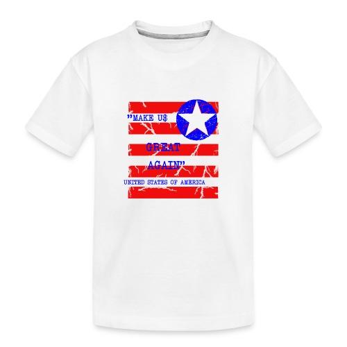 MAKE USG REAT AGAIN - Ekologisk premium-T-shirt tonåring