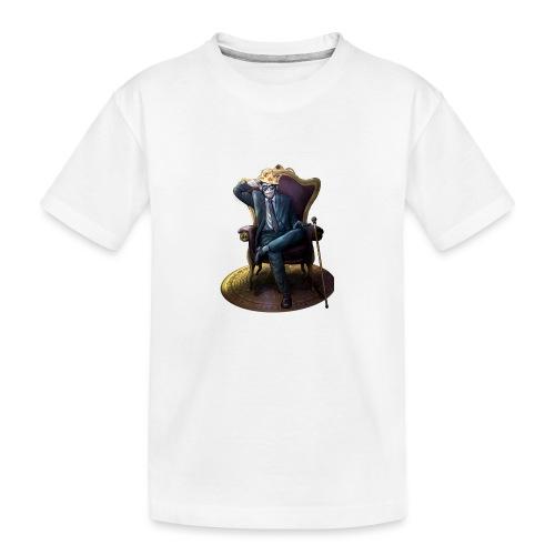 Bitcoin Monkey King - Gamma Edition - Teenager Premium Bio T-Shirt