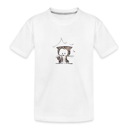 Cat 06o - T-shirt bio Premium Ado