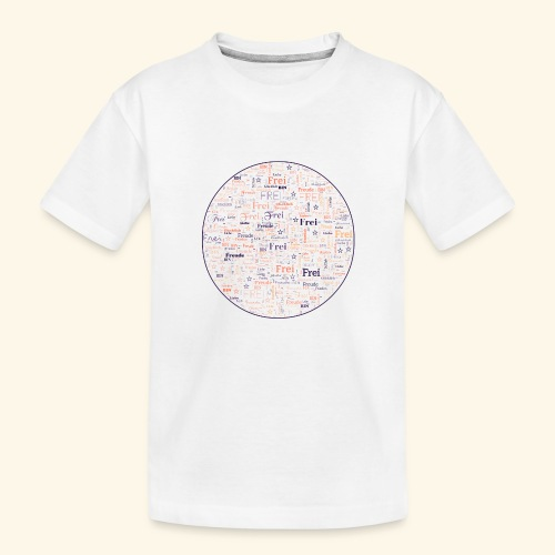 Ich bin - Teenager Premium Bio T-Shirt
