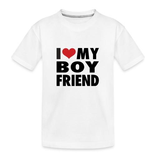 Yo amo a mi novio - Camiseta orgánica premium adolescente