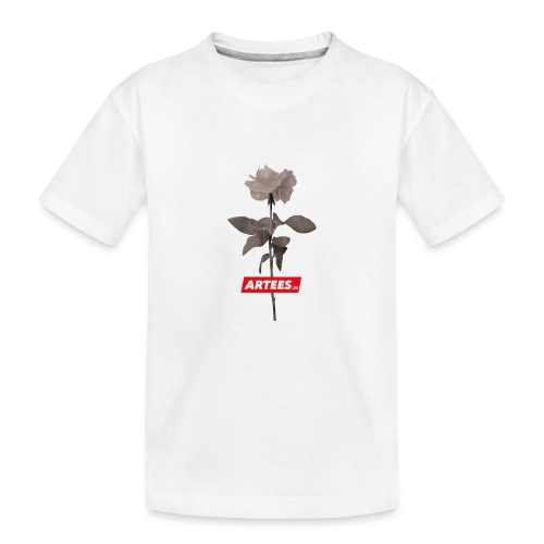 Be ARTEES.DE Rose - Teenager Premium Bio T-Shirt