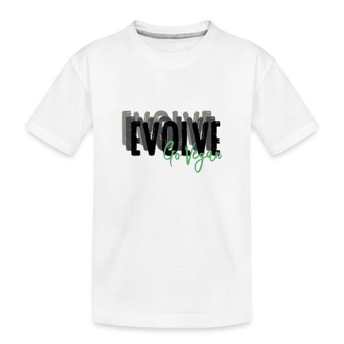 Evolve go Vegan - Teenager Premium Organic T-Shirt