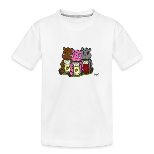 3Ours AngelerasCorp - T-shirt bio Premium Ado