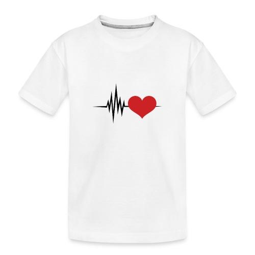 Latiendo por tu amor - Camiseta orgánica premium adolescente