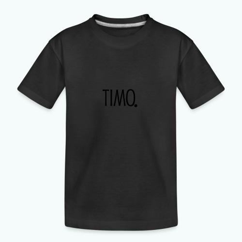 Ontwerp zonder achtergrond - Teenager premium biologisch T-shirt