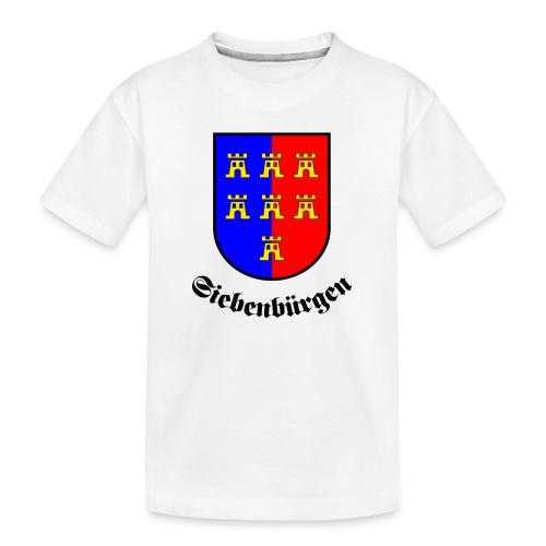 Wappen der Siebenbürger Sachsen Siebenbürgen - Teenager Premium Bio T-Shirt