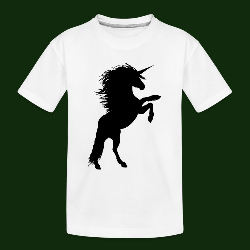 Einhorn - Teenager Premium Bio T-Shirt