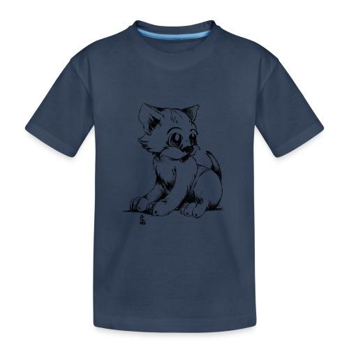 Chaton - T-shirt bio Premium Ado