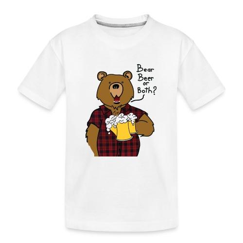 Beer and Bear - T-shirt bio Premium Ado