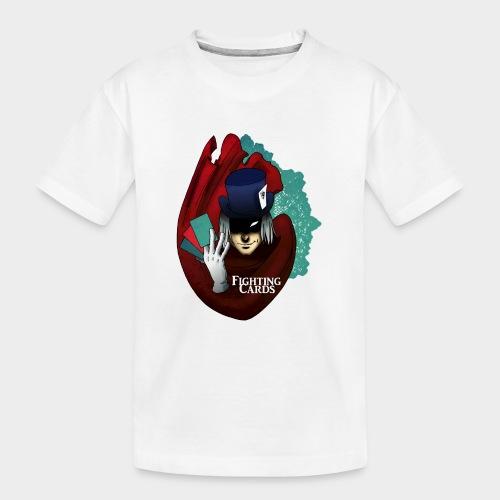 Fighting cards - Magicien - T-shirt bio Premium Ado