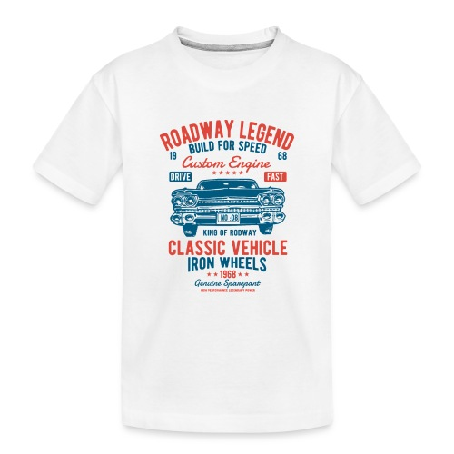 Roadway Legend - Teenager premium biologisch T-shirt