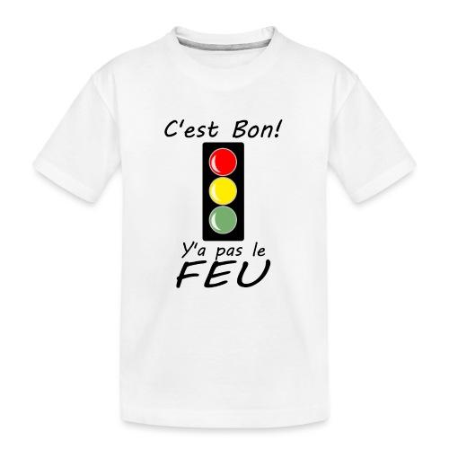 pas le feu tricolore - T-shirt bio Premium Ado