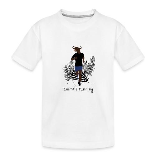 Buffle running - T-shirt bio Premium Ado
