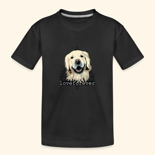 RETRIEVER LOVE FOREVER - Camiseta orgánica premium adolescente