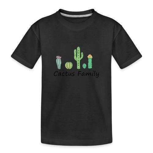 Cactus family - Teenager Premium Bio T-Shirt