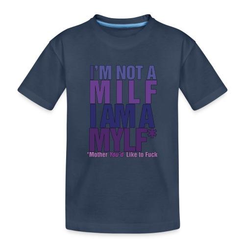 MYLF - Premium økologisk T-skjorte for tenåringer