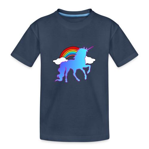 Einhorn Design - Teenager Premium Bio T-Shirt