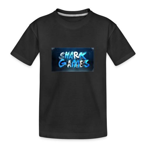 SharkGames - Maglietta ecologica premium per ragazzi
