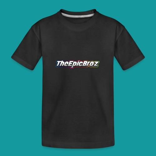 TheEpicBroz - Teenager premium biologisch T-shirt