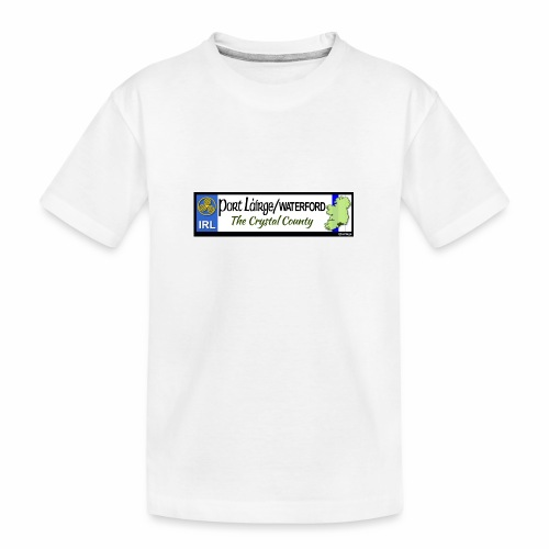 WATERFORD, IRELAND: licence plate tag style decal - Teenager Premium Organic T-Shirt