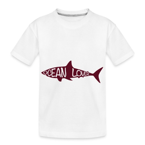 The Shark - Le Requin - T-shirt bio Premium Ado