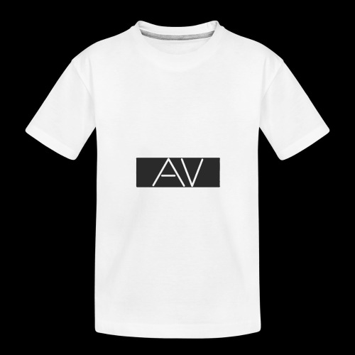AV White - Teenager Premium Organic T-Shirt