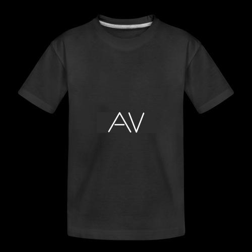 AV White - Teenager Premium Organic T-Shirt